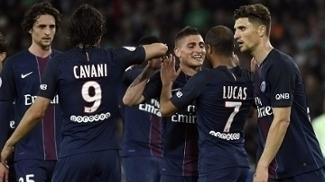 Lucas fez dois em goleada do PSG