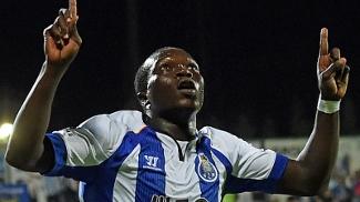 O camaronês Aboubakar fez o gol da vitória do Porto nesta terça