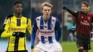 Jornal Gazzetta dello Sport elegeu os 30 melhores jogadores sub-20 da Europa. Veja quem é cada um e quanto valem, de acordo com o site Transfermarkt