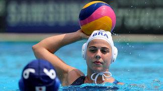 Seleção venceu apenas uma no polo aquático feminino