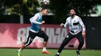 Sem ser vazado há três jogos, Santos treina para enfrentar o Independiente Santa Fe