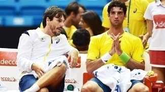 Thomaz Bellucci Joao Zwetsch Copa Davis 14/09/2014