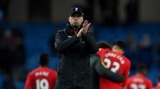 Jurgen Klopp após jogo do Liverpool contra o Manchester City