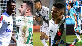 Bruno Henrique (Santos), Bruno Henrique (Palmeiras), Lucca, Paulinho e Douglas foram os destaques do Bola de Prata