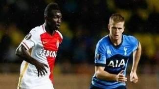 Monaco e Tottenham ficaram no empate pela Liga Europa