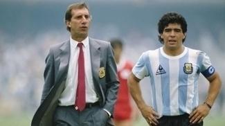 Carlos Bilardo ganhou a Copa do Mundo de 1986, tendo Maradona como destaque