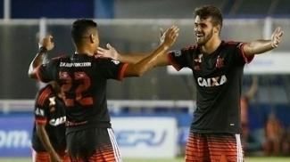 Felipe Vizeu marcou seu primeiro gol como jogador profissional