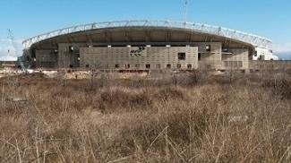 Wanda Metropolitano Estadio Atletico de Madri Construção 16/01/2017