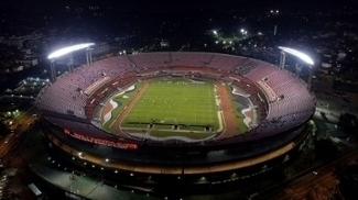 O estádio do Morumbi, a casa do São Paulo