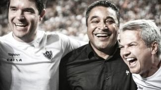 Roger Comemora Titulo Campeonato Mineiro Atlético-MG 07/05/2017