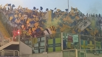Torcida do Parma compareceu ao Artemio Franchi na semifinal