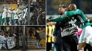 Brigas após jogo contra o Peñarol pode ter consequências para o Palmeiras na Libertadores