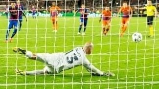 Neymar Perde Penalti Barcelona Manchester City Champions 19/10/2016