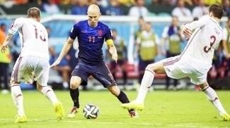 Robben Holanda Espanha Copa do Mundo 2014 13/06/2014