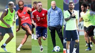 Gigantes da Europa já pensam na temporada 2017-18 do futebol