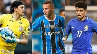 Cássio (Corinthians), Luan (Grêmio) e Taison (Shakhtar) foram convocados por Tite