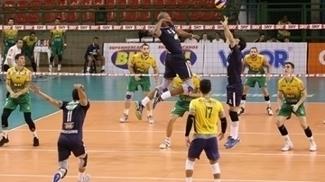 Sada Cruzeiro em ação na Superliga