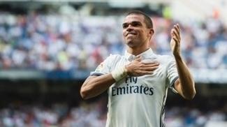 da6eadc6fc Pepe está no Real Madrid desde 2007