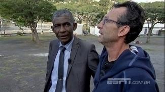 Veja como foi reencontro de Neto com árbitro em que cuspiu: 'Perdão dele foi o mais importante'