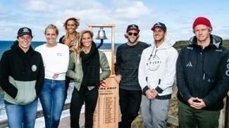 Surfista iniciam disputa pelo título da etapa de Bells Beach neste domingo do Mundial de surfe nesta terça