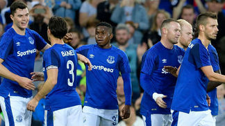 Everton venceu o Hajduk Split no Goodison Park