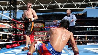 Jeff Horn derrotou Pacquiao na Austrália
