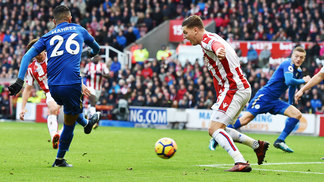 Leicester Stoke City Premier League 04/11/2017
