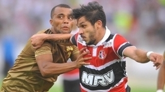 Santa Cruz e Sport ficaram no empate no Arruda
