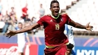 Cordova Comemora Gol Venezuela EUA Mundial sub-20 04/06/2017