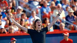 Alexander Zverev superou Roger Federer na final em Montreal