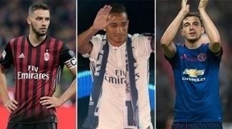De Sciglio (Milan), Danilo (Real Madrid) e Darmian (United) são opções da Juventus