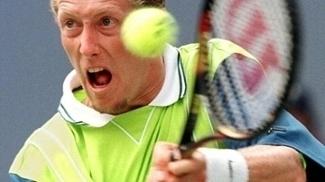 Jonas Bjorkman durante o US Open 1997: melhor ano de sua carreira em simples