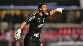 Renan Ribeiro é o principal goleiro do São Paulo na temporada
