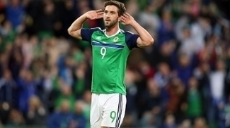 Will Grigg Comemora Gol Irlanda do Norte Belarus Amistoso 27/05/2016