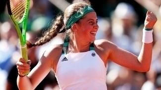 Jalena Ostapenko Comemora Roland Garros 08/06/2017