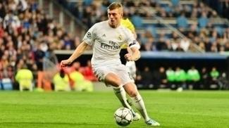 Kross em ação pelo Real Madrid