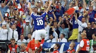 Zidane Copa de 98 Comemora