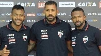 Marcão, Everton Heleno e Diego Rosa foram apresentados de forma oficial