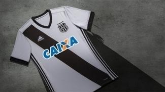 Ponte mostrou a nova camisa 1 do clube, com a faixa 'invertida'