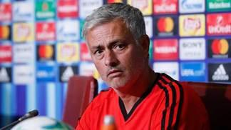 José Mourinho, técnico do Manchester United