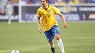 Kaká durante jogo da seleção brasileira contra a Costa Rica, em Nova Jersey