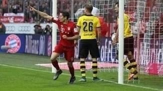 Lewandowski brilhou contra sua ex-equipe