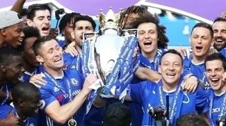 Chelsea Comemora Trofeu Premier League 21/05/2017