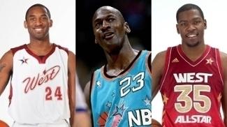 Com Jordan, Kobe e outros 'modelos', veja os uniformes mais bonitos da história