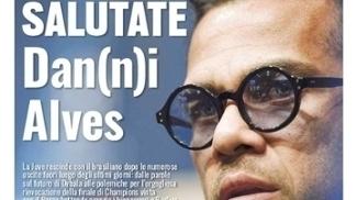 Jornal italiano 'Tuttosport' diz que Juventus vai rescindir com 'Danos Alves'