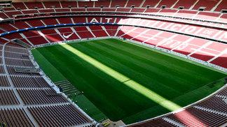 Vista do estádio Wanda Metropolitano