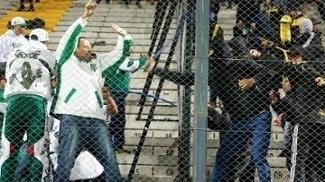Palmeiras Peñarol Briga Torcida Libertadores 26/04/2017