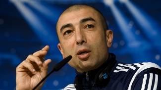 Di Matteo, técnico do Schalke, durante coletiva da Champions