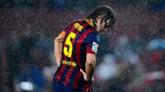 Puyol, capitão do Barcelona desde 2004, disse que não tem mais nível para atuar pelo clube catalão