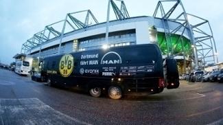 Borussia Dortmund Onibus Signal-Iduna Park 23/01/2016